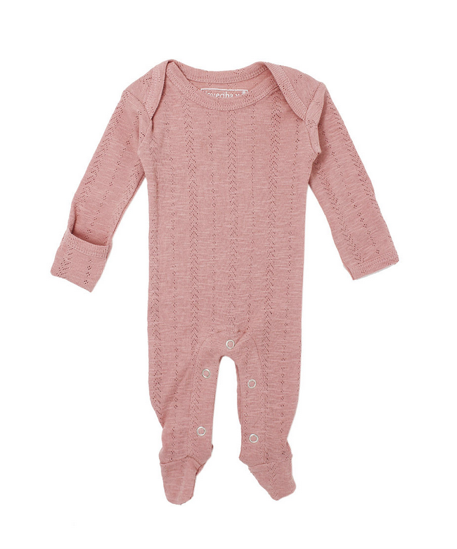 L'oved Baby L'oved Baby | Pointelle Lap-Shoulder Footie