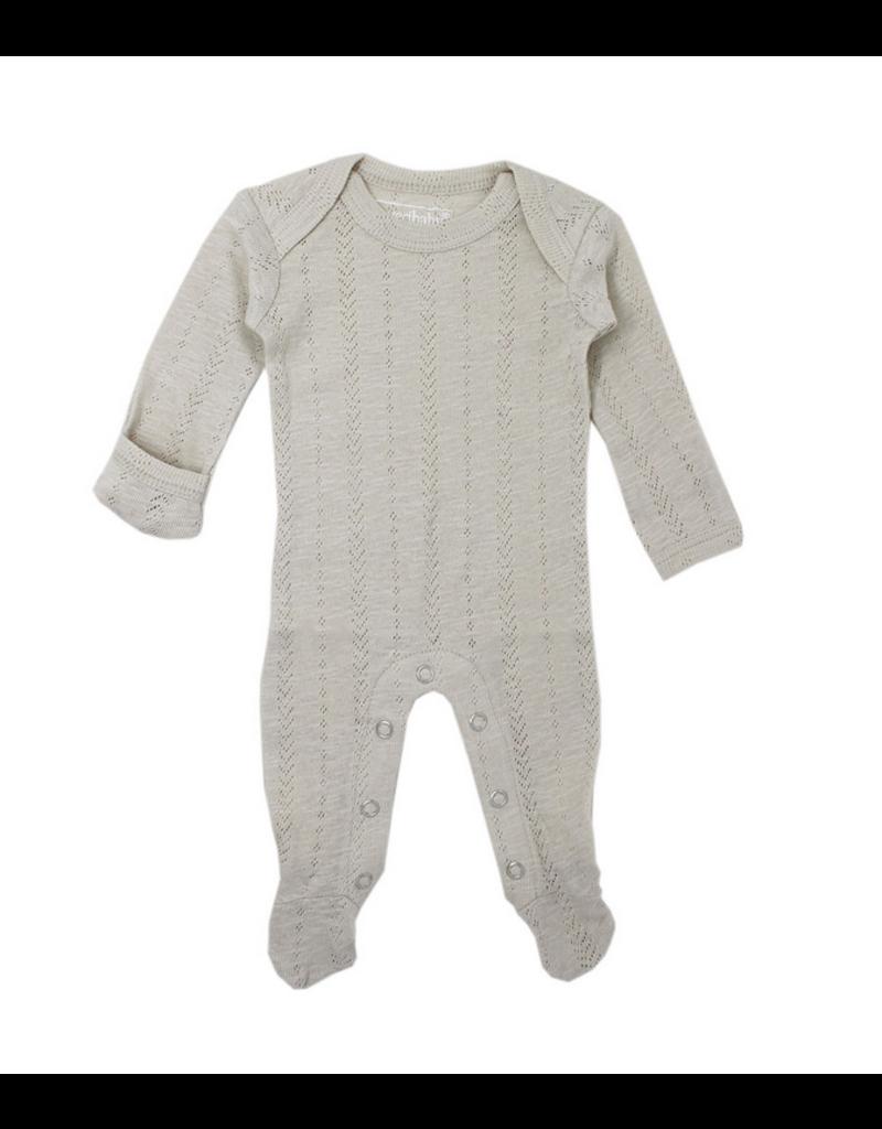 L'oved Baby | Pointelle Lap-Shoulder Footie