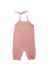L'oved Baby | Pointelle Romper in Mauve