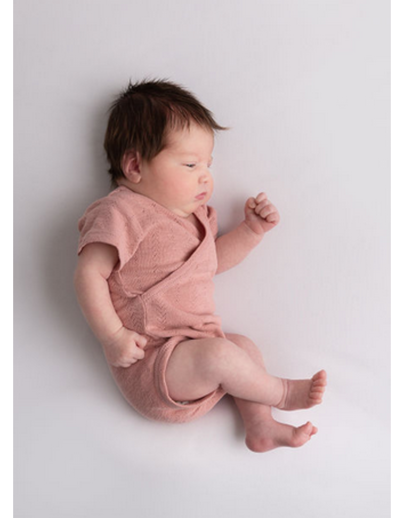 L'oved Baby | Pointelle Wrap Bodysuit