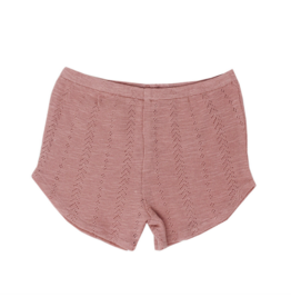 L'oved Baby L'oved Baby | Pointelle Tap Shorts in Mauve