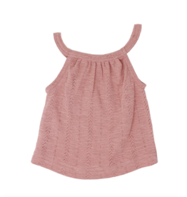 L'oved Baby | Pointelle Halter Tank in Mauve