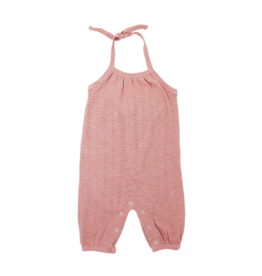 L'oved Baby | Pointelle Toddler Romper in Mauve
