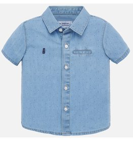 Mayoral Mayoral | Short Sleeve Denim Shirt