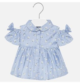Mayoral Mayoral | Open Shoulder Baby Blouse