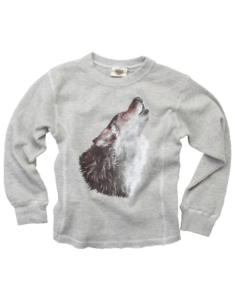 Wes & Willy Wes & Willy | Wolf Waffle Tee