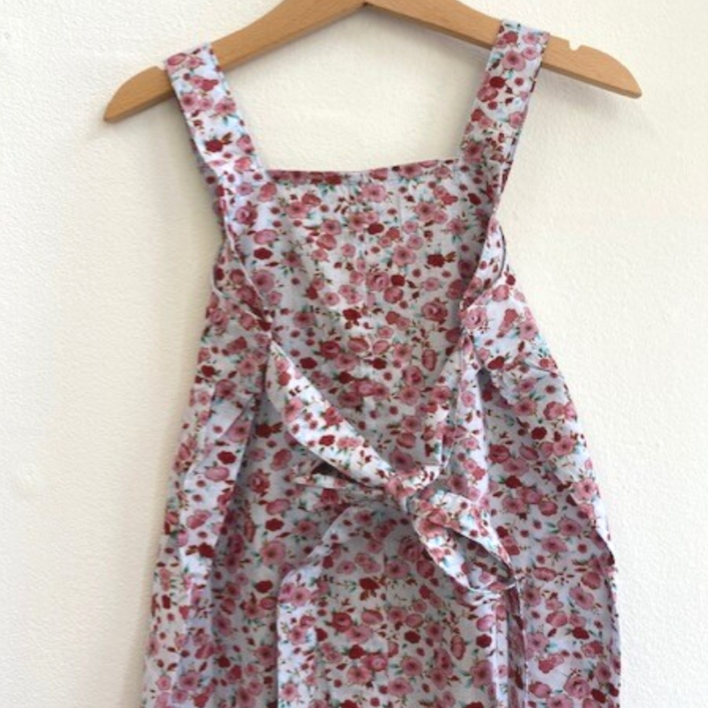 Ren & Rouge| Blue Floral Overall