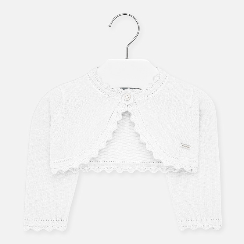 Mayoral Mayoral | Cropped Baby Cardigan