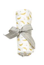 Angel Dear Angel Dear   Bananas Bamboo Jersey Swaddle