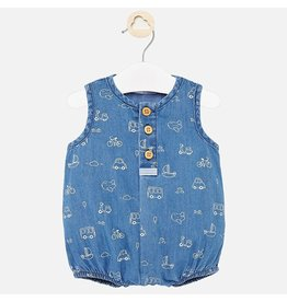 Mayoral Mayoral | Vehicles Chambray Romper