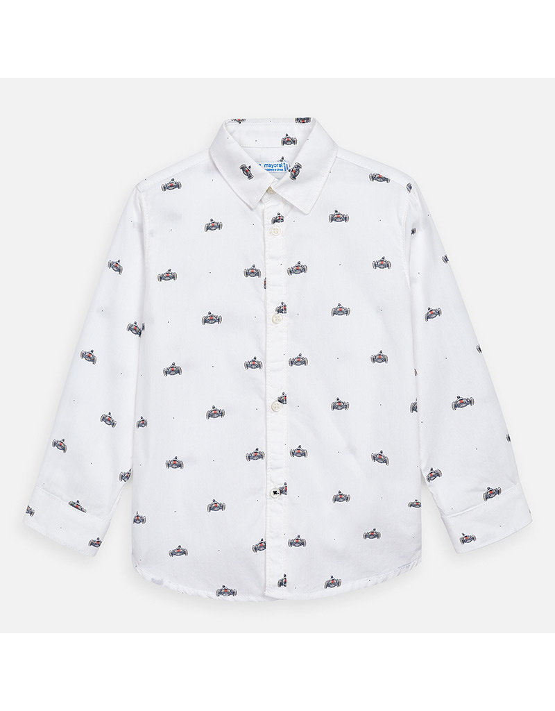Mayoral Mayoral | Racecar Print Button Down