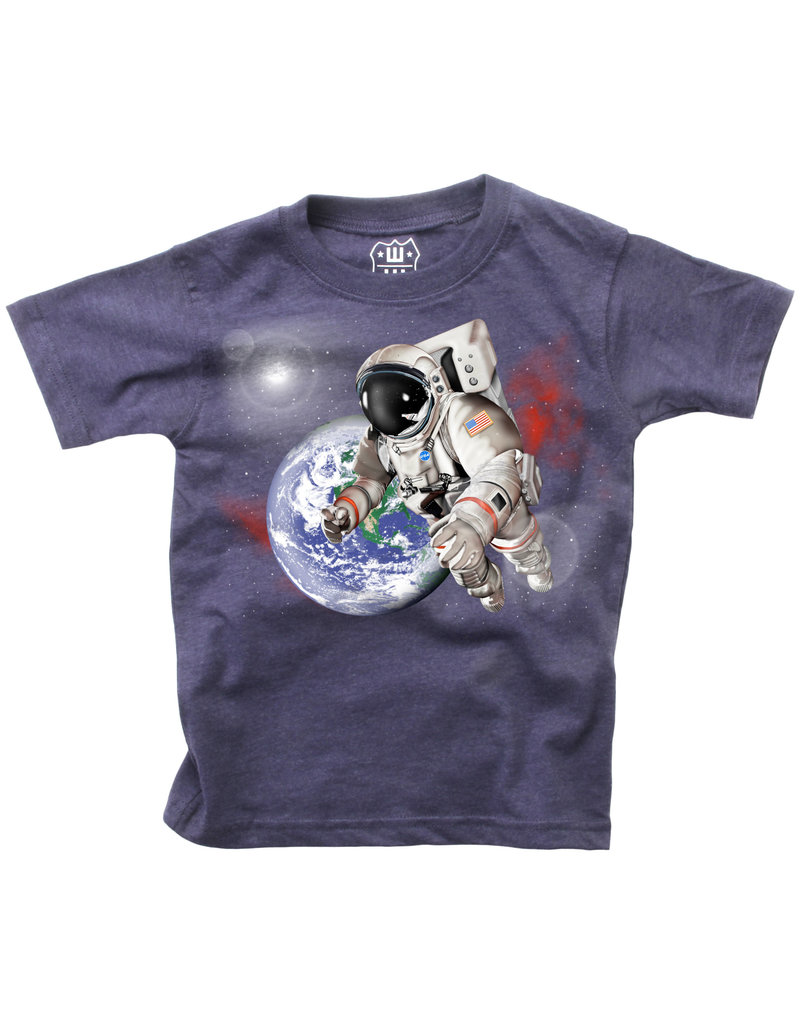 Wes & Willy Wes & Willy   Astronaut Baby Tee