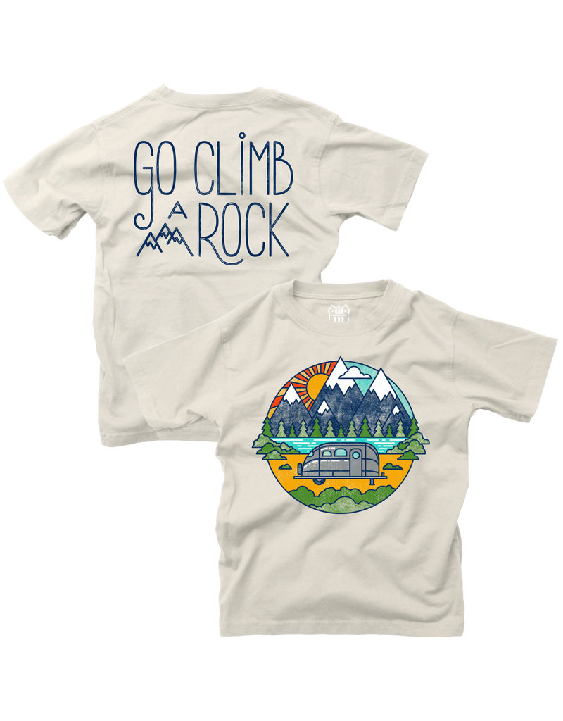 Wes & Willy Wes & Willy | Climb A Rock Baby Tee