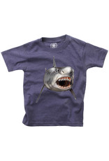 Wes & Willy Wes & Willy   Shark Smile Baby Tee