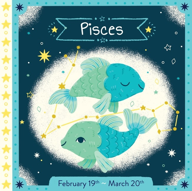 Zodiac Board Book | Pisces
