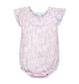 Feather Baby Feather Baby | Allie Floral Ruched Bubble