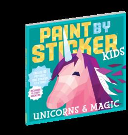 Workman Publishing Kids Paint By Sticker | Unicorn