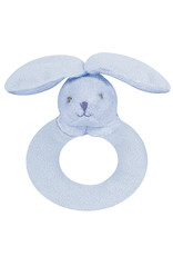 Angel Dear Angel Dear Ring Rattle | Blue Bunny