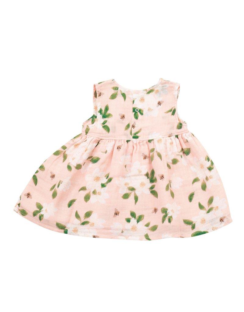 Angel Dear Angel Dear | Magnolias Kimono Style Baby Dress