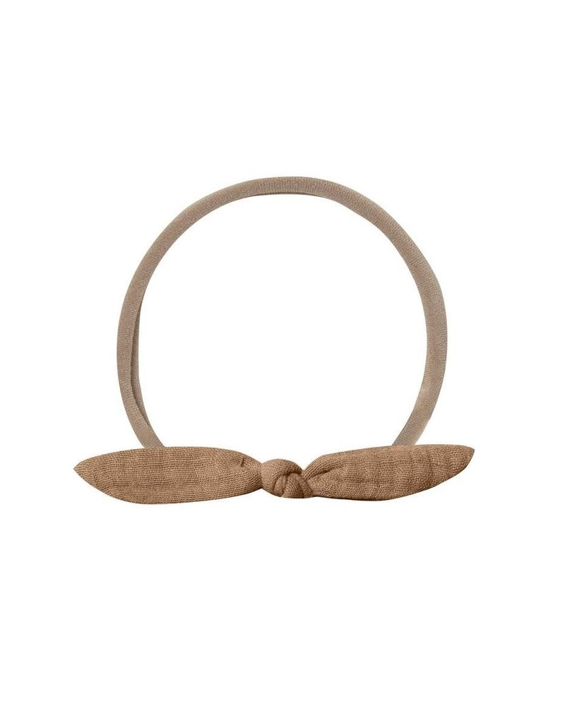 Quincy Mae Quincy Mae   Little Knot Headband in Rust