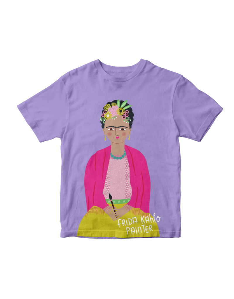 Piccolina Piccolina | Frida Kahlo Short Sleeve Tee