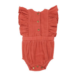 L'oved Baby L'oved Baby | Muslin Ruffled Bodysuit