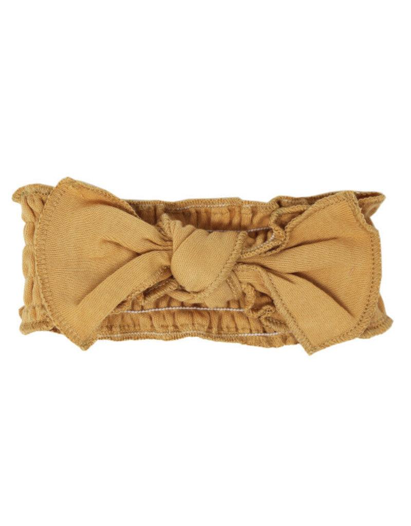 L'oved Baby | Smocked Headband in Honey