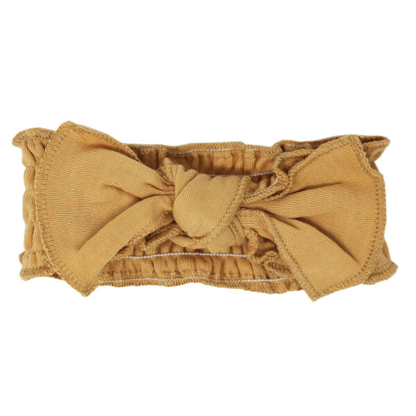 L'oved Baby L'oved Baby   Smocked Headband in Honey