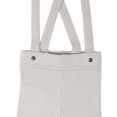 L'oved Baby L'oved Baby   Suspender Shorts in Light Gray