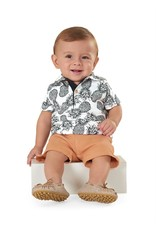 Up Baby| Pineapple Polo Set