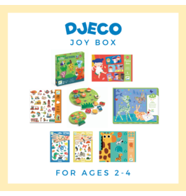 Djeco Djeco | Joy Box Bundle 1 (Ages 2-4 yrs)