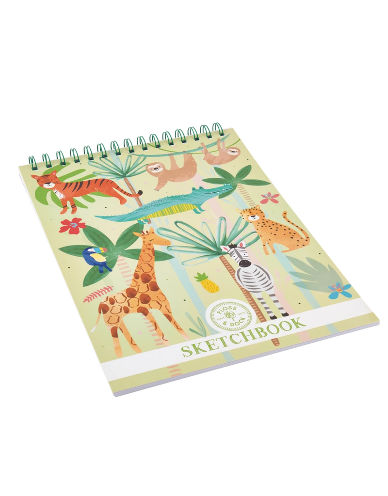 Floss & Rock Jungle Sketchbook