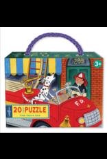 eeBoo eeboo | Fire Truck Dog 20pc Puzzle