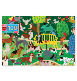 eeBoo eeboo | Dogs at Play 100 Piece Puzzle