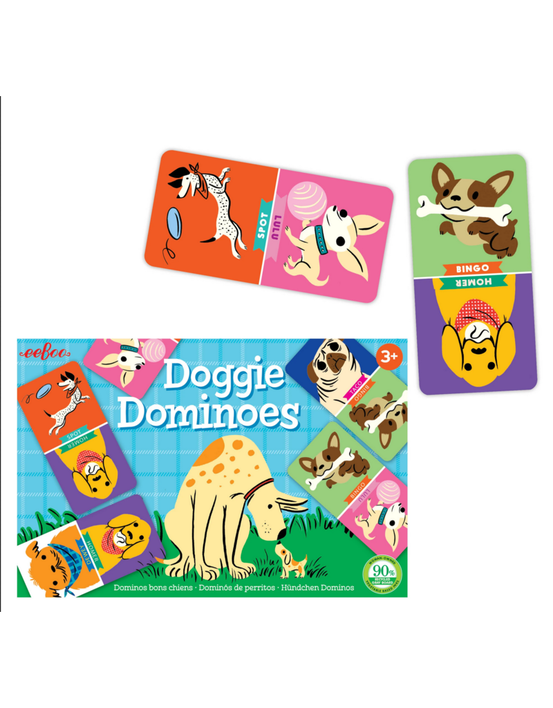 eeBoo eeboo | Doggie Dominoes