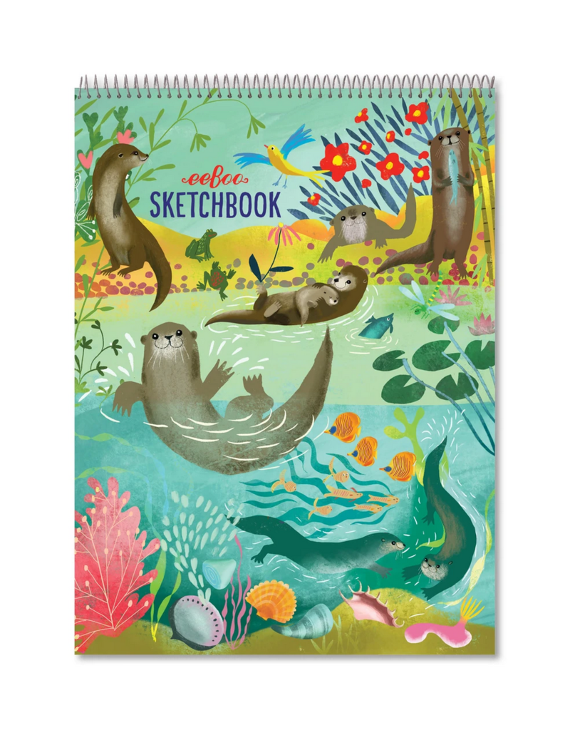 eeBoo eeboo | Otters at Play Sketch Book