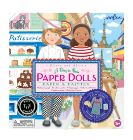 eeBoo eeboo | Paper Dolls - A Day in Paris
