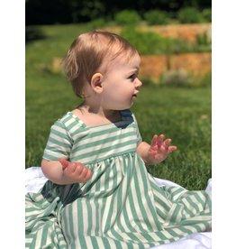 Vignette Vignette   Rylie Baby Dress Set in Lime