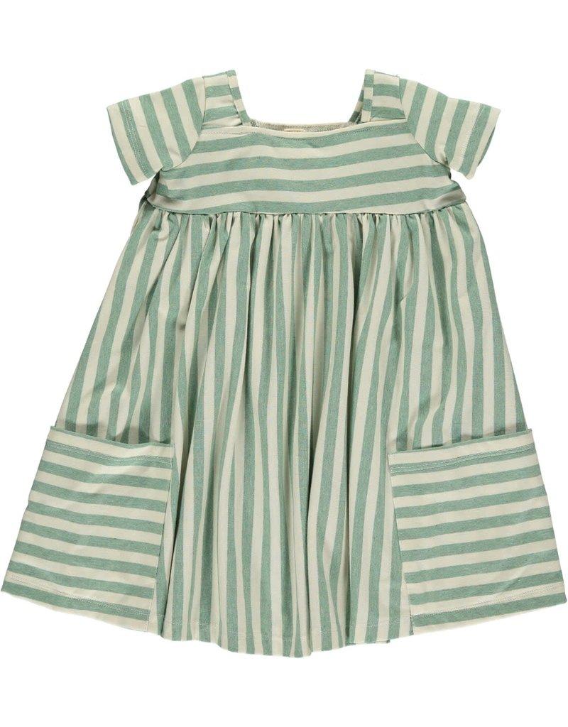 Vignette Vignette | Rylie Baby Dress Set in Lime
