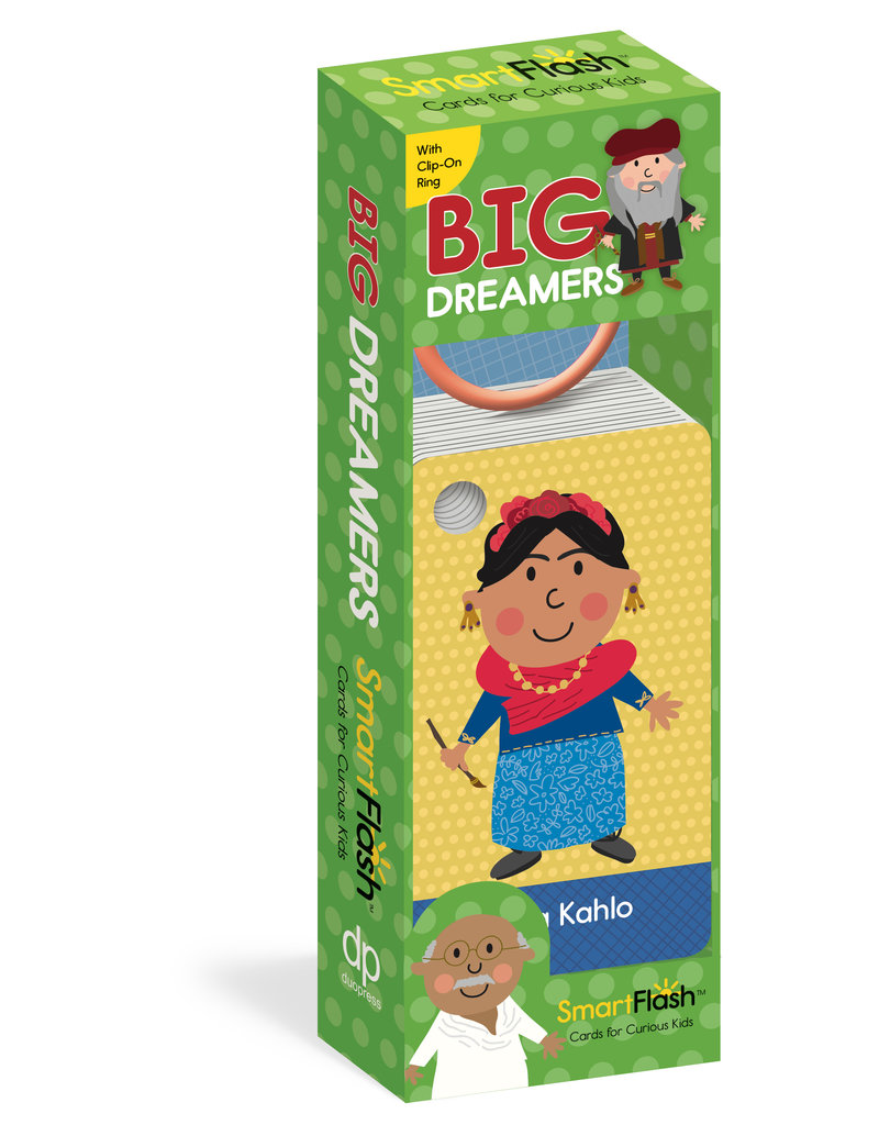 Workman Publishing Big Dreamers Flash Cards