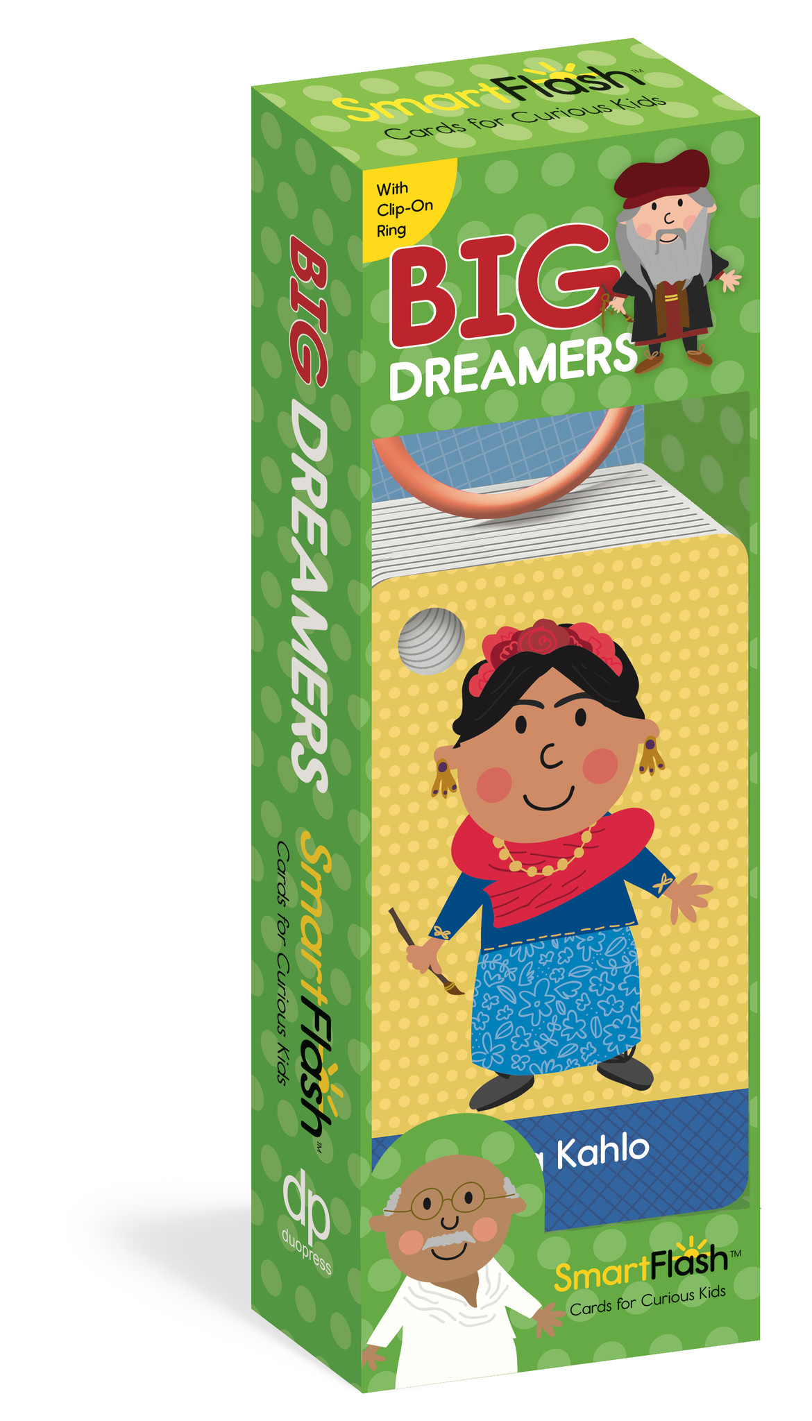 Workman Publishing Big Dreamers Flash Cards