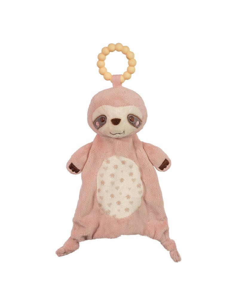Douglas Douglas Sloth Teether Pink