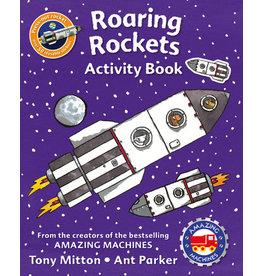 Amazing Machines:  Roaring Rockets Activity Book
