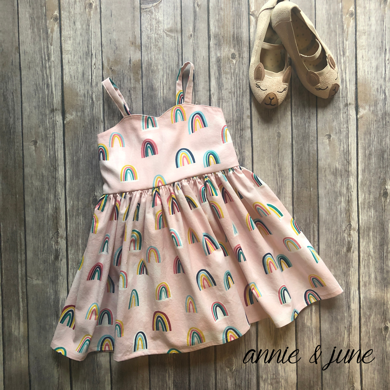 Annie & June | Handmade Sweetheart Dress