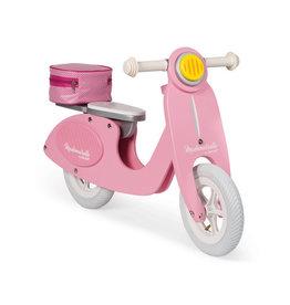 Janod Mademoiselle Pink Scooter Balance Bike