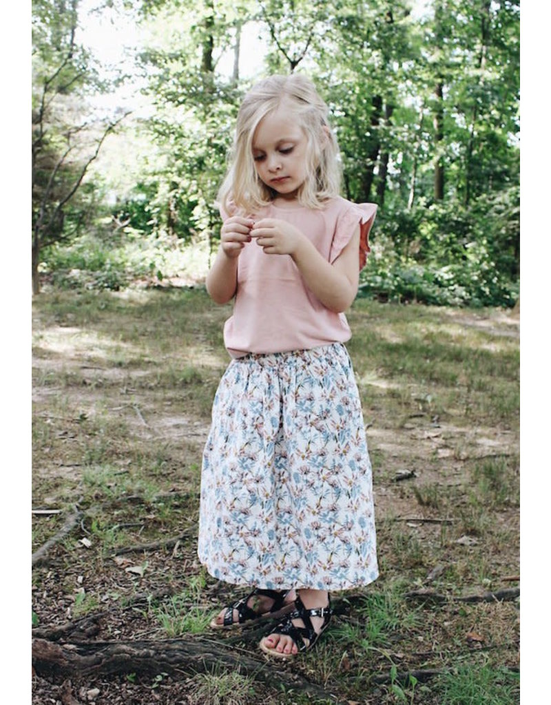 Young & Free | Floral Skirt