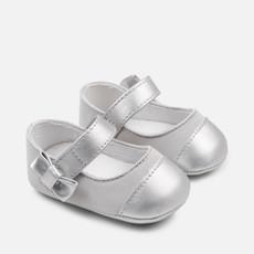 Mayoral Mayoral   Metallic Toe Crib Shoe