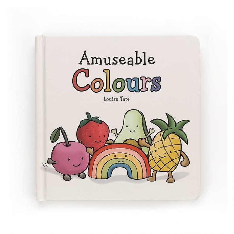 JellyCat JellyCat   Amuseable Colors Board Book