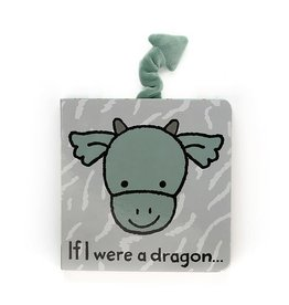 JellyCat JellyCat | If I Were A Dragon Board Book