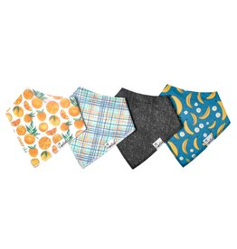 Copper Pearl Copper Pearl | 4-Pack Bandana Bib Set Citrus